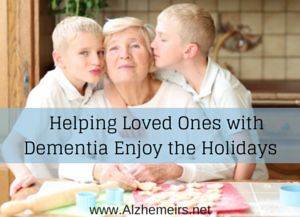 Holidays can be a time of equal parts sentimentality and stress for any family, and when you add in a loved one with dementia, those experiences may intensify.A Place for Mom Senior Living