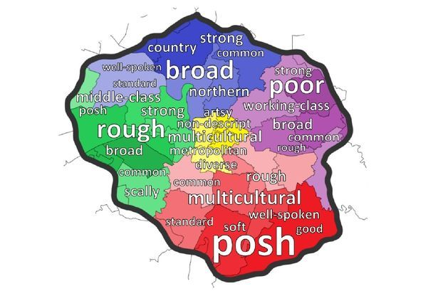 Scally or posh? Greater Manchester accent map shows what people think about the way YOU talk - Manchester Evening News