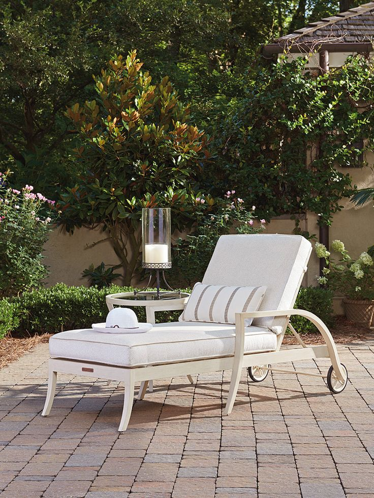Misty Garden Chaise Lounge From Tommy Bahama Outdoor Living. Customize In  Any All Weather
