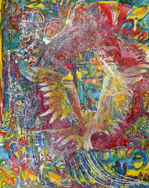 """Saatchi Art Artist Igor Eugen Prokop; Painting, """"ICARUS.ANATOMY OF FREEDOM."""" #art"""