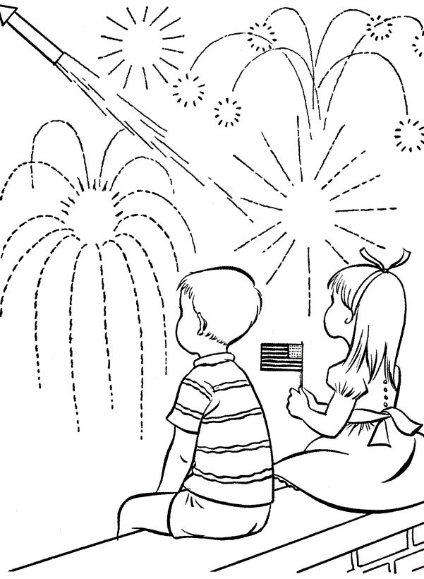 4th Of July Coloring Pages For Your #Toddlers :The 4th of july coloring pages free to print are extremely patriotic and can also be used to decorate your home once they are colored by your kid.