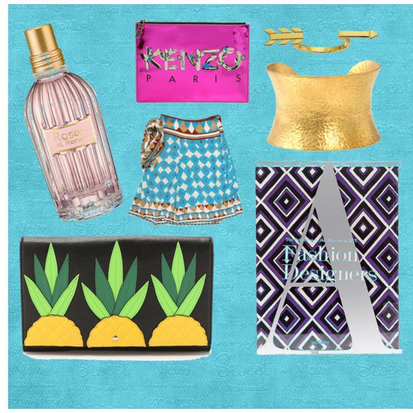 artsy mood by lenahcaruana on Polyvore featuring art, kenzo, DVF, loccitane, coffeetablebook and pineappleclutch: