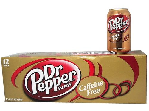 DR PEPPER - Caffeine Free - My favorite carbonated drink!