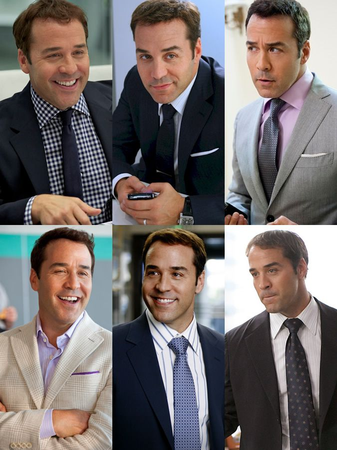 Style Profile: Jeremy Piven played as Ari Gold in Entourage, Celluloid Style Lookbook
