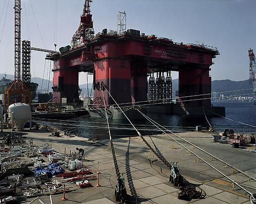 Thomas Struth, Semi Submersible Rig DSME Shipyard, Geoje Island