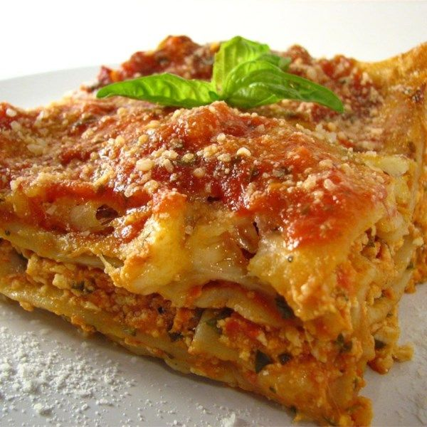 """Tofu Lasagna 