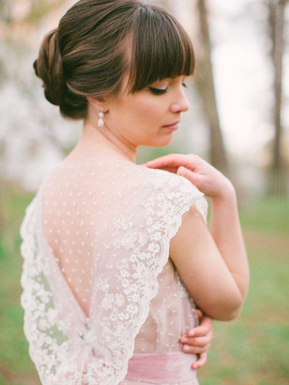 Romantic Inspiration by Anastasiya Belik | dress by Tanya Kochnova