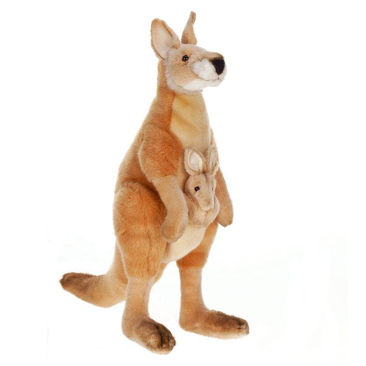 18 Inch Mama and Joey Kangaroo