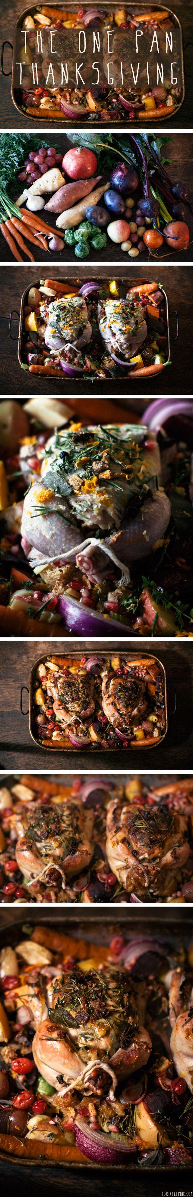 One Pan Thanksgiving.