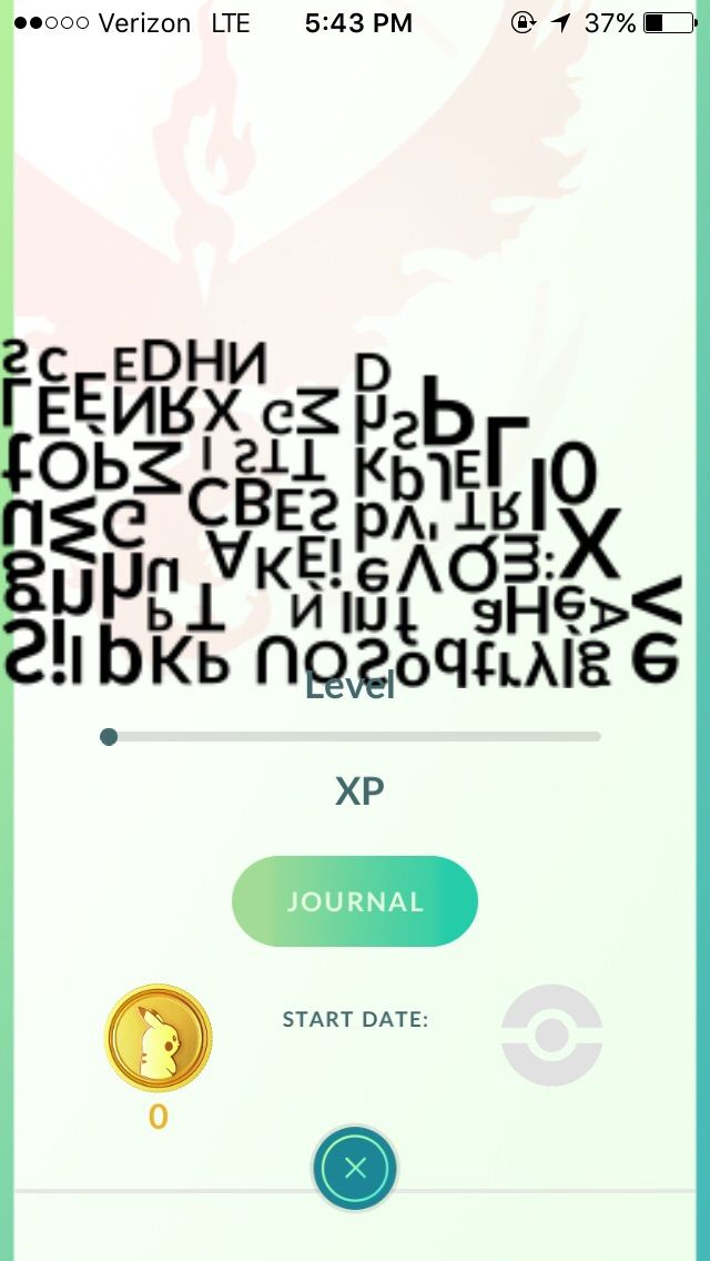 I found missingno! (Pokemon Go)