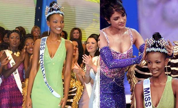 See The First Black Africans To Win The Miss World and Miss Universal