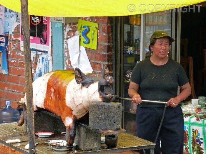 Street Delicacy - Riobamba