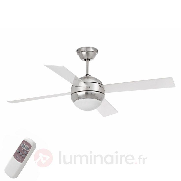 Ventilateur de plafond HONOLULU, référence 3506752 - Ventilateurs de plafond ou à poser chez Luminaire.fr !