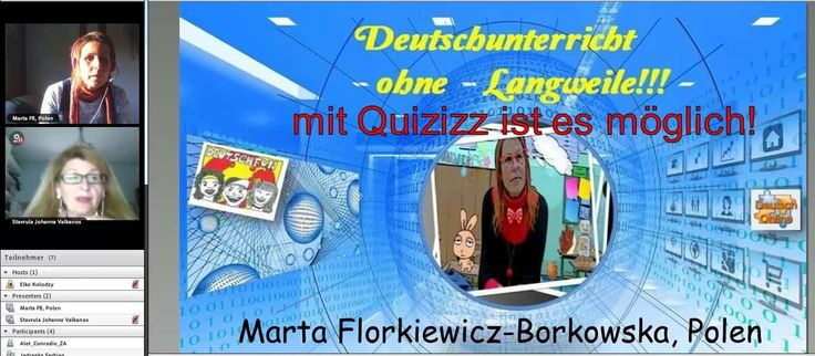 Quizziz Workshop mit Marta