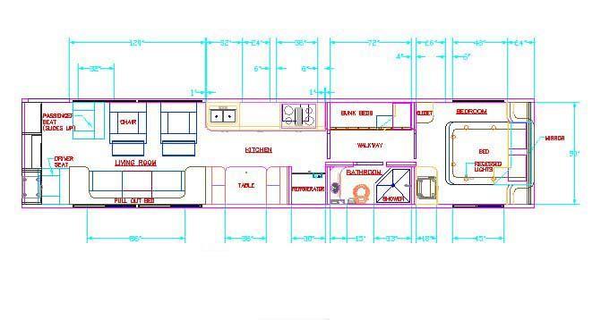 skoolie conversion floor plan pdf