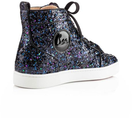 louboutin glitter sneakers - Google Search
