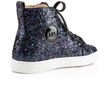 louboutin glitter sneakers - Google Search