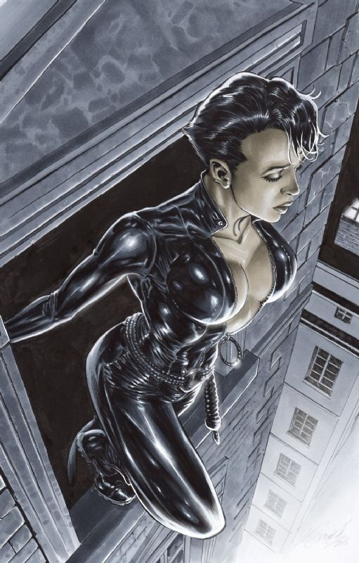 Catwoman by Marco Santucci