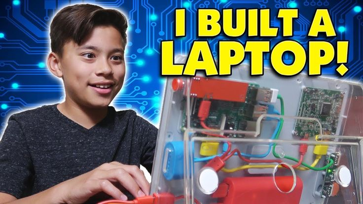 DIY LAPTOP!!! Evan Builds His First Computer!  Hack Minecraft! Coding wi...