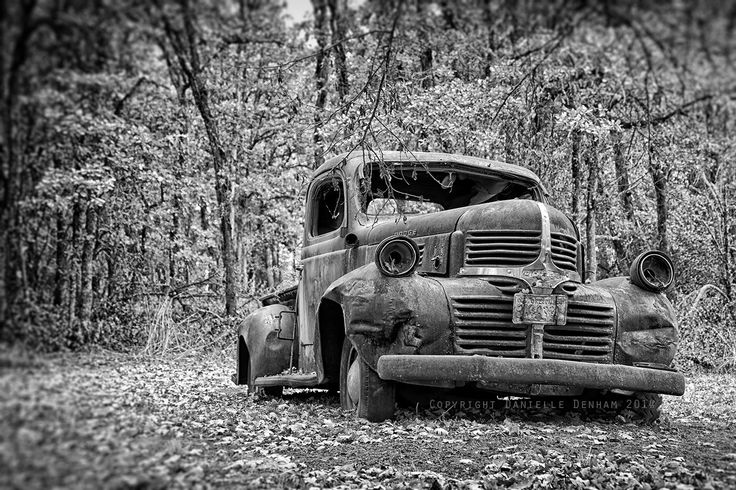 Car Photography Old Dodge Truck Vintage Black and White 8x12 by ThePDXPhotographer on Etsy https://www.etsy.com/listing/206155878/car-photography-old-dodge-truck-vintage