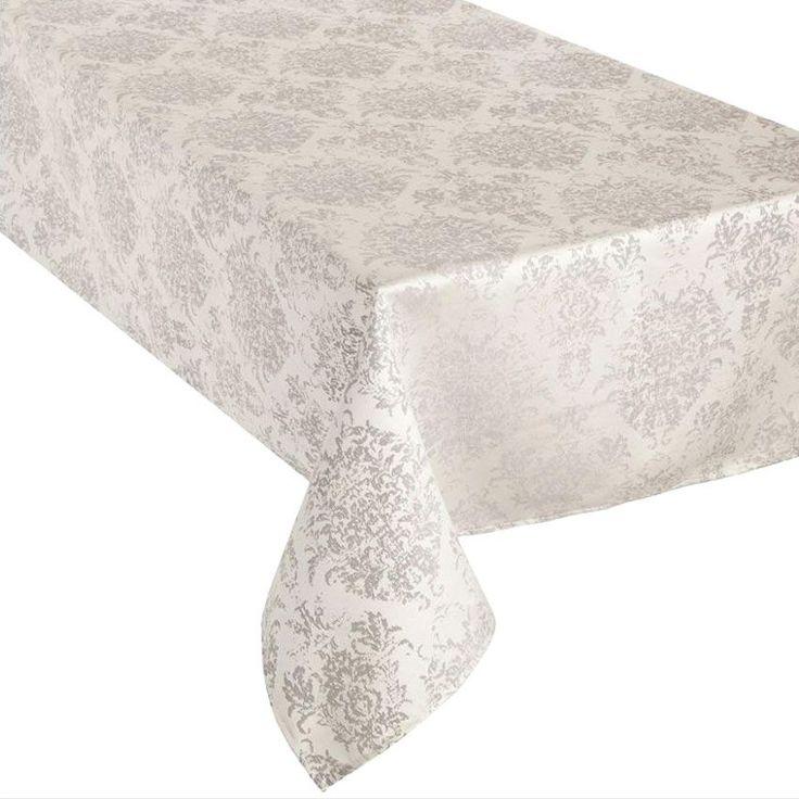 Nappe rectangulaire (L240 cm) Arabesque Gris : choisissez parmi tous nos produits Nappe de table