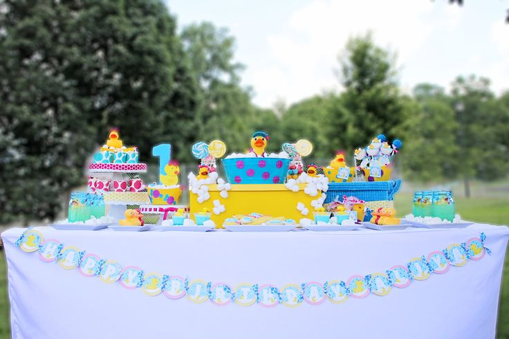 duckie theme birthday 1st birthday | ... 1st birthday. You're going to love the details of this party