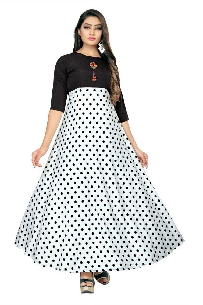 Indian Party Wear Long Gown Women Wear Royal Crape Western Fancy Gown KZPU 14-7