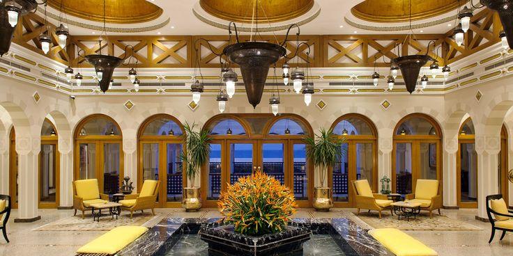 The Lobby at The Oberoi, Sahl Hasheesh