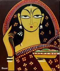 paintings by jamini roy - Google Search