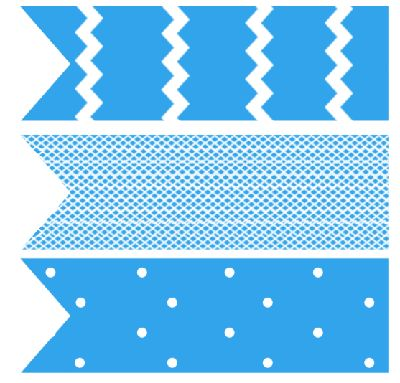 free printable baby shower cupcake flag toppers blue
