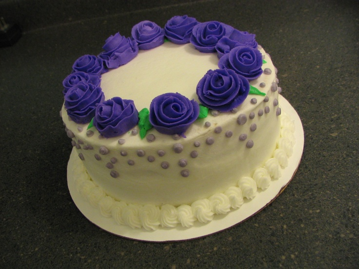Cake Decorating Classes Grapevine Tx : Wilton Course 1 final project Piped Dreams Pinterest ...