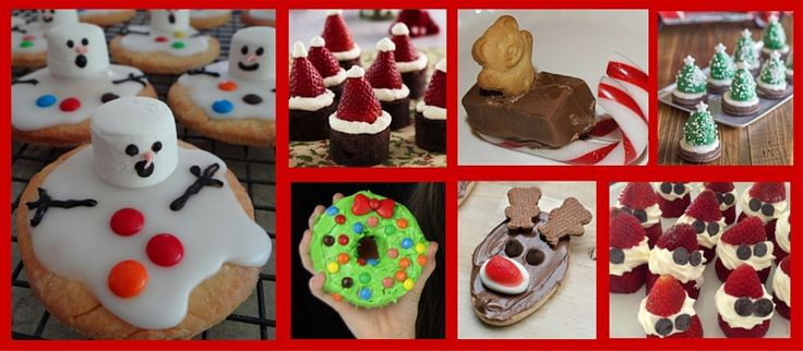 12 fun Christmas recipe ideas that will not only delight the kids, but are also easy to make.
