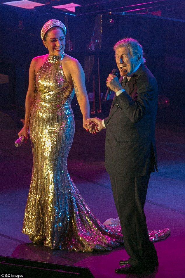 Lady Gaga and Tony Bennett - Brussels, September 2014