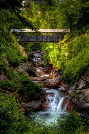 Covered Bridge - Taken near The Flume in New Hampshire USA