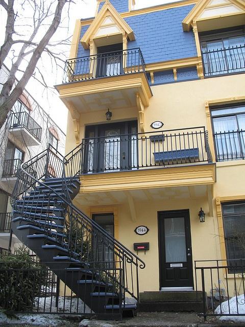 Montréal Staircases