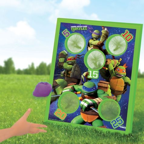 Teenage Mutant Ninja Turtles Bean Bag Toss Game 5pc - Party City