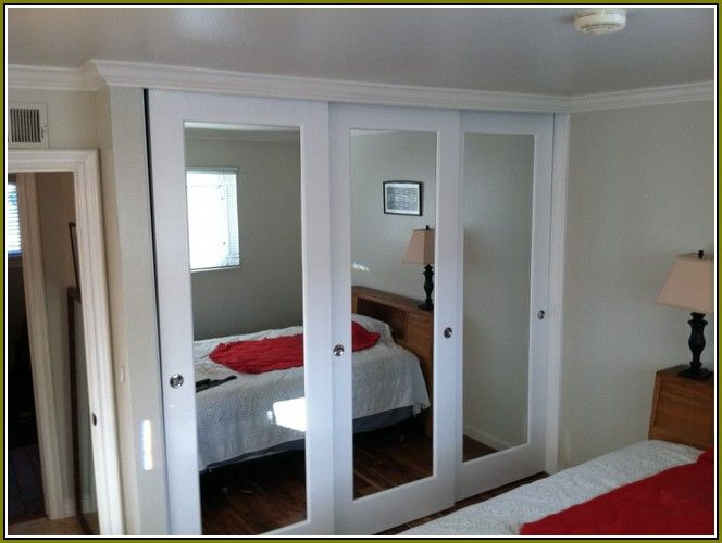 Bifold Mirrored Closet Doors Home Depot