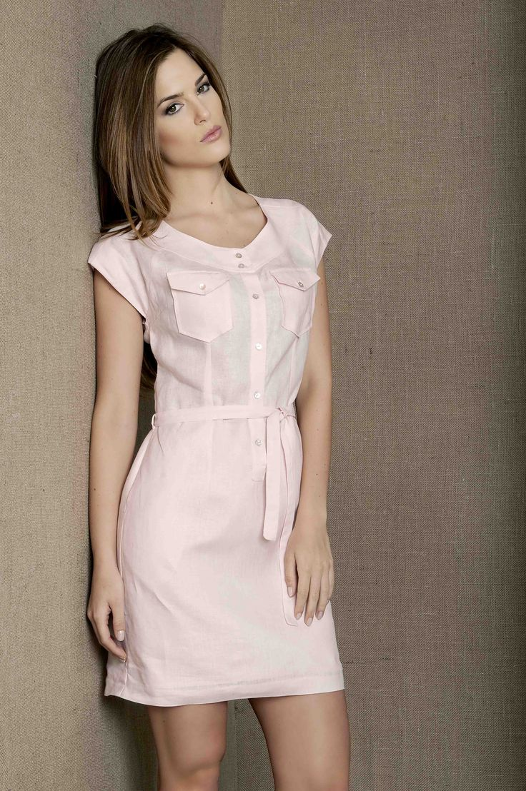 Vestido basico  Color rosita bajo Casual con unos sapatos o sandalias planas y formal con unos tacos