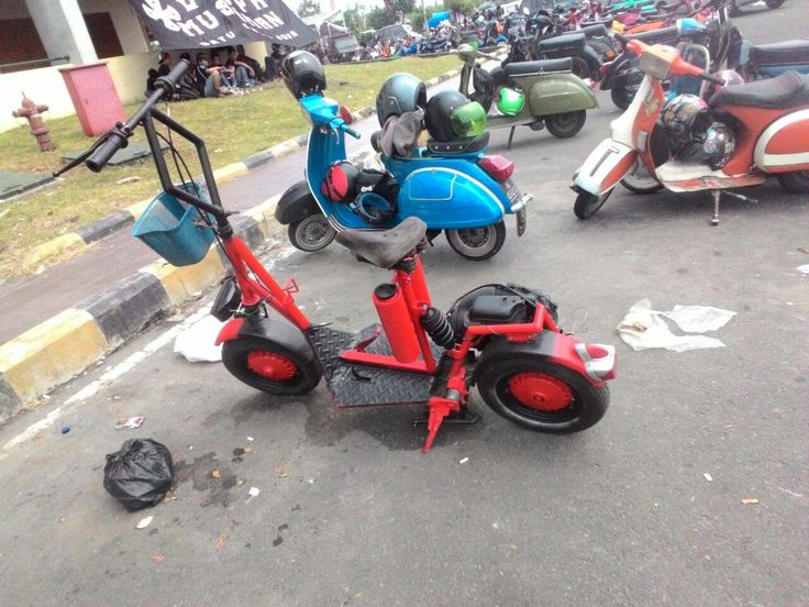 Indonesian Scooter extreme modification