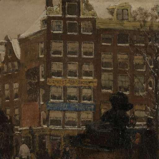 The Singel Bridge at the Paleisstraat in Amsterdam, George Hendrik Breitner, 1896 - Search - Rijksmuseum