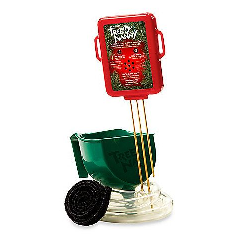 The Tree Nanny is a wonderful Christmas tree watering system. Clad in a festive red and green color, it is designed to warn you when your tree is running low on water with a gentle, jingle bell sound.