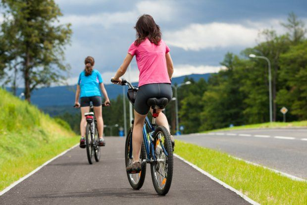 Franek i jego wędrówki: Chcesz schudnąć? Zrób trening na rowerze