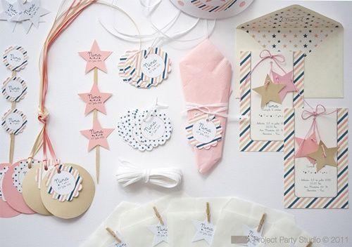 Un kit de cumpleaños 5 estrellas para niña Fiestas para Niñas Hadas y Princesas Pinterest