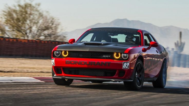 The Dodge Challenger Demon will outdo the Hellcat Be scared: new SRT Demon will be even more unhinged than 707bhp Hellcat