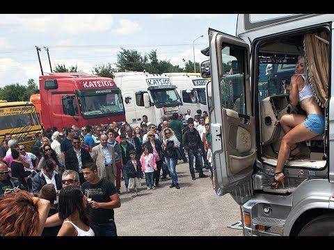 truck festival serres greece dragster slalom Trucks 2015