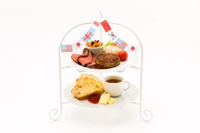 【メニュー紹介 11🍖】 世界制覇!ワールドツアープレート (¥1,500) わーすたのメンバーがMVの中で世界中を旅して手に入れた豪華なプレート!それぞれのメンバーが学習している国の料理を盛り合わせています🍽お友達とシェアなどもおすすめ☝︎ #わーすた #わーすたカフェ