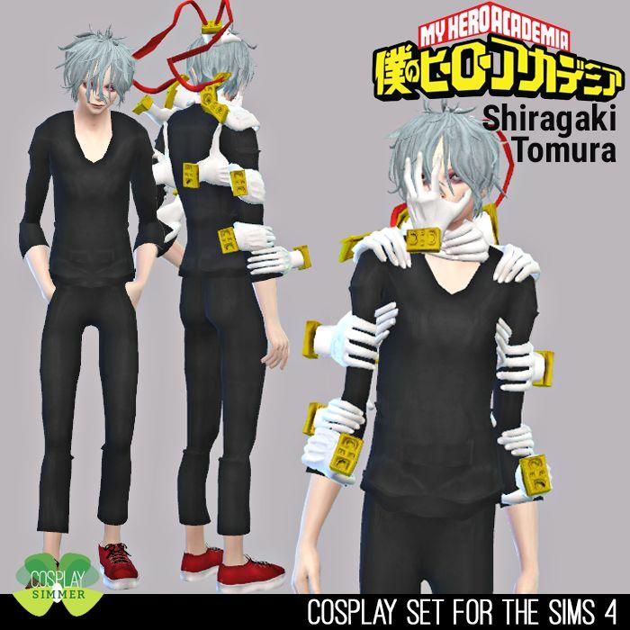 P Requested The Sims 4 My Hero Academia Shiragaki Tomura