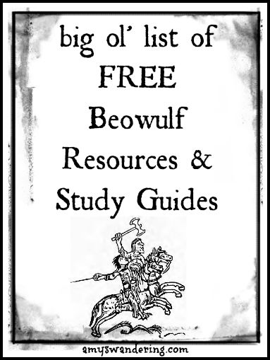 FREE Beowulf Resources and Study Guides