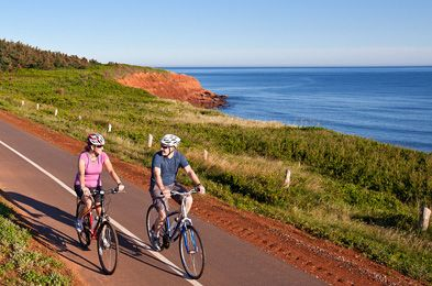 PEI National Park of Canada -- Cavendish, Brackley, etc. Walking/biking trails and beaches. Website has trail maps!
