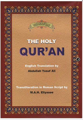 Download free The Holy Quran- Transliteration in Roman Script with Arabic Text and English Translation pdf